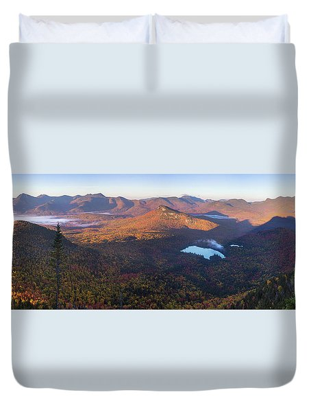 Tremont Autumn Morning Panorama Duvet Cover