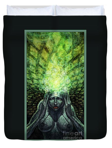 Trepidation Of Existence Duvet Cover by Tony Koehl