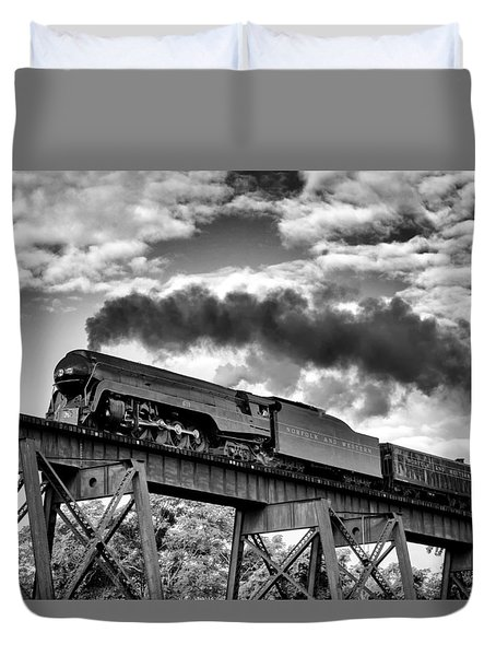 Trestle Crossing Duvet Cover