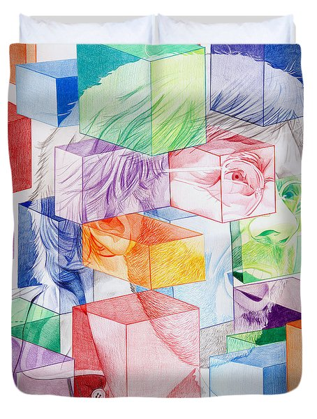 Trey Anastasio-never Get Out Of This Maze Duvet Cover by Joshua Morton