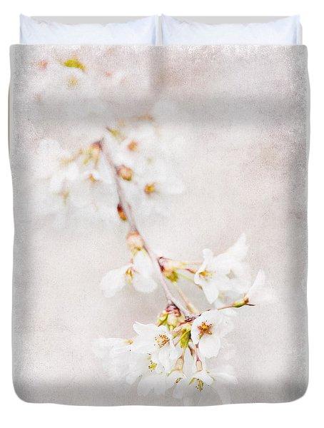Triadelphia Cherry Blossoms Duvet Cover