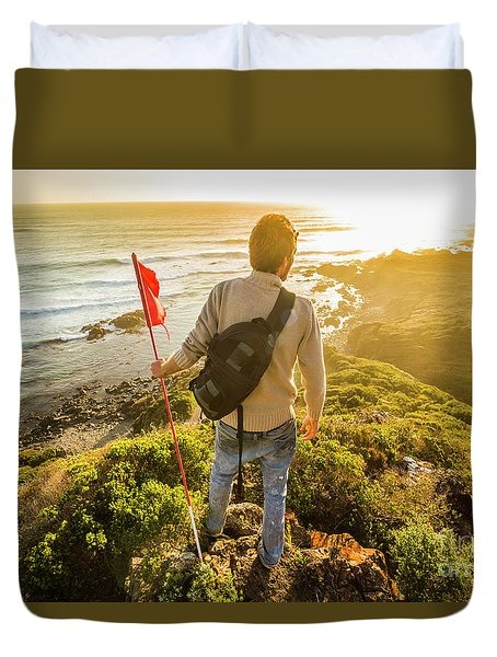 Trials And Triumphs  Duvet Cover