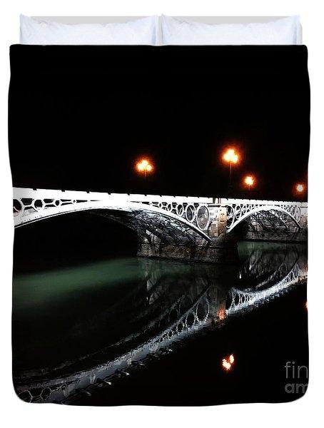 Triana Bridge Duvet Cover