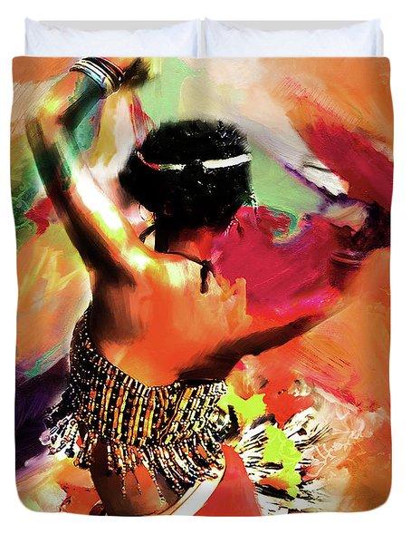 Tribal Dance 0321 Duvet Cover