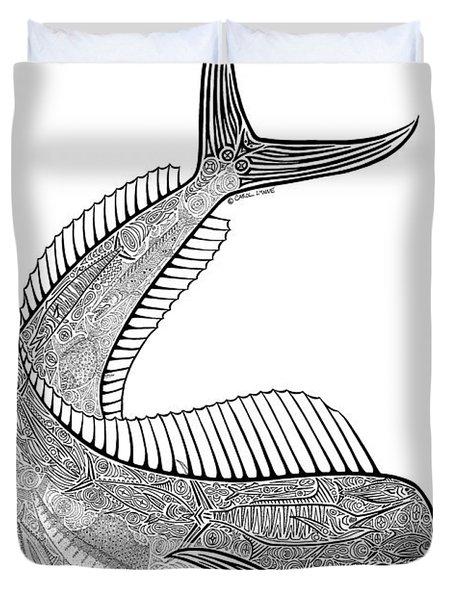 Tribal Mahi  Duvet Cover