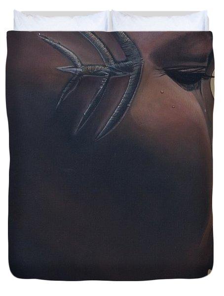 Tribal Mark Duvet Cover