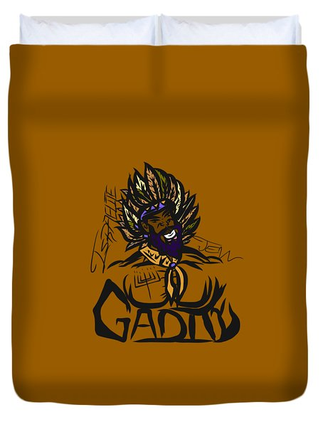 Tribe Of Gad Duvet Cover