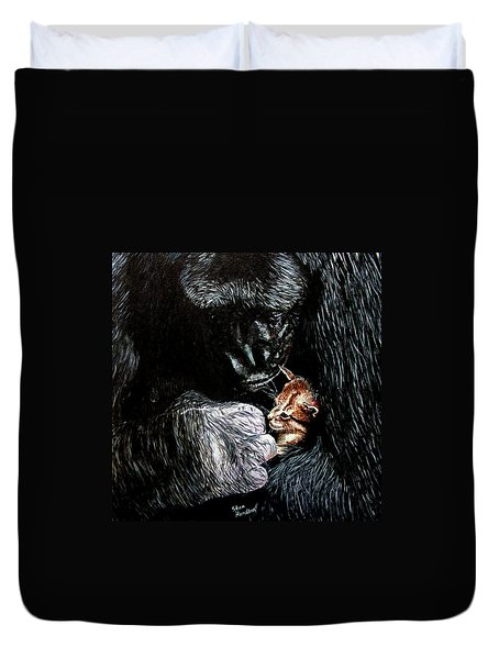 Tribute To Koko Duvet Cover by Stan Hamilton
