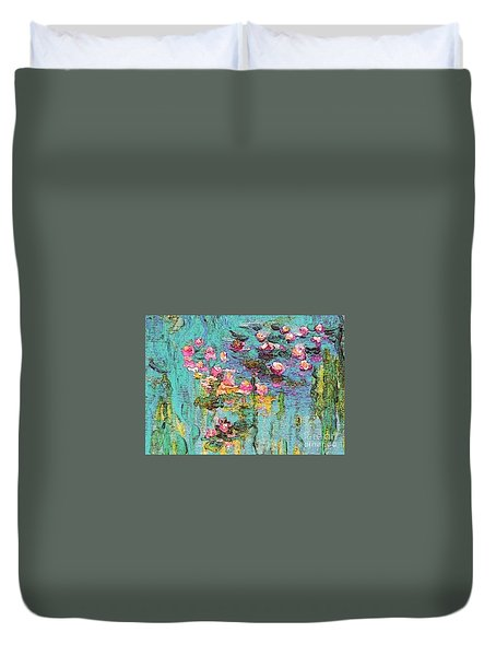 Tribute To Monet II Duvet Cover