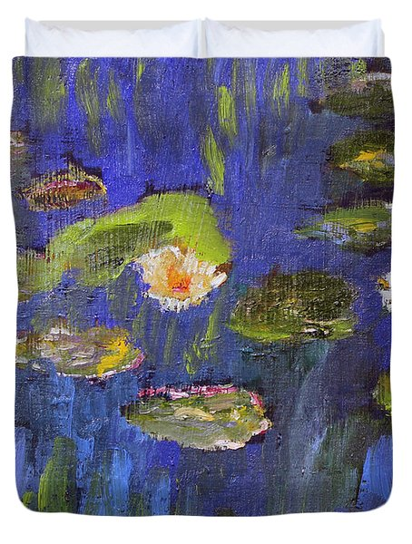 Tribute To Monet Duvet Cover