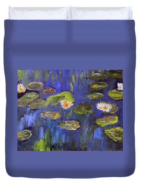 Tribute To Monet Duvet Cover
