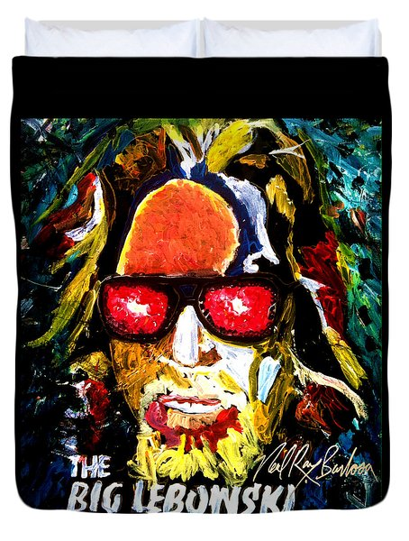 tribute to THE BIG LEBOWSKI Duvet Cover