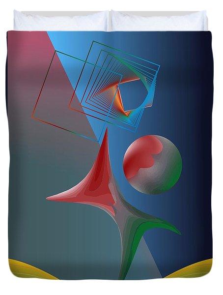 Trick Duvet Cover by Leo Symon