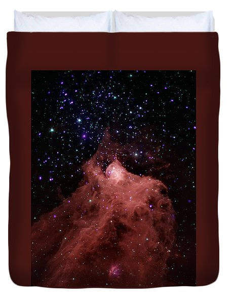 Trigger-happy Star Formation Duvet Cover