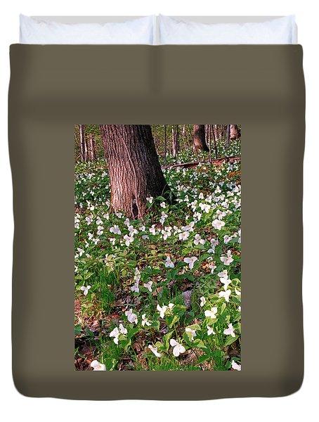 Trillium Woods No. 1 Duvet Cover