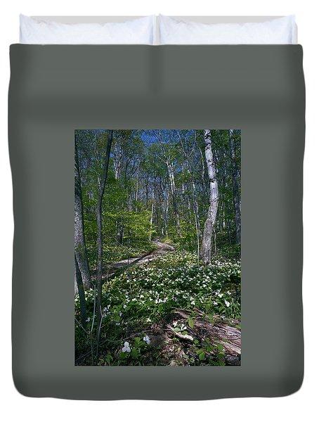Trillium Woods No. 2 Duvet Cover
