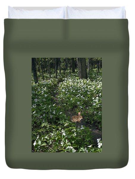 Trillium Woods No. 3 Duvet Cover