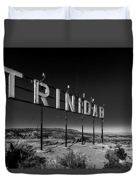Trinidad Colorado Sign Simpsons Rest Duvet Cover
