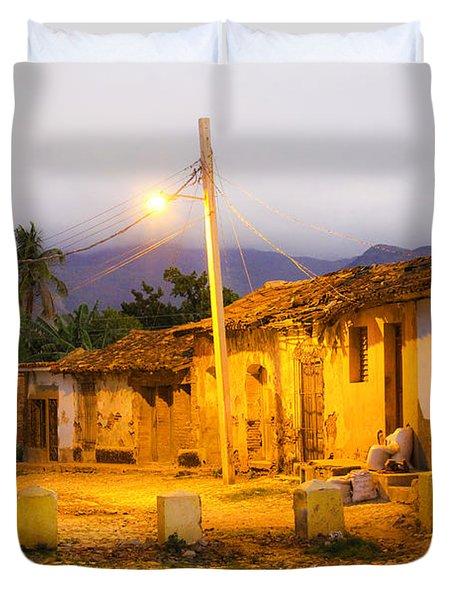 Trinidad Morning Duvet Cover