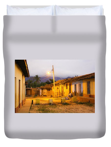 Trinidad Morning Duvet Cover