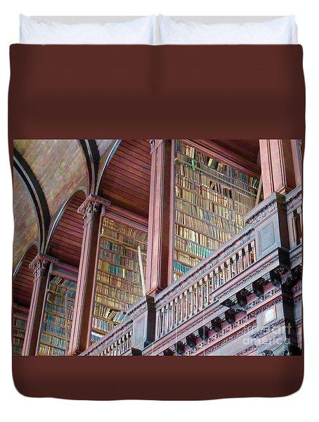 Trinity College 2 Duvet Cover by Crystal Rosene
