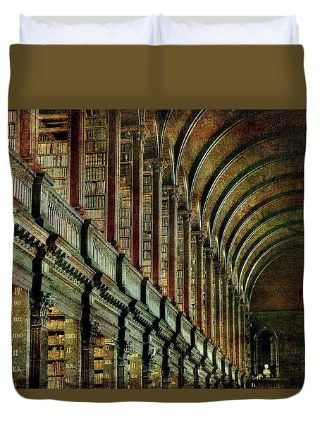Trinity College Library Duvet Cover