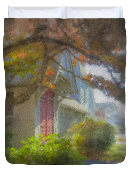 Trinity Episcopal Church, Bridgewater, Massachusetts Duvet Cover