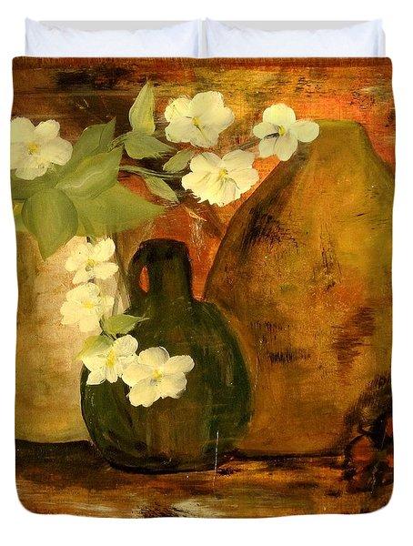 Trio Vases Duvet Cover