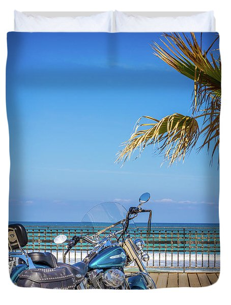 Trip To The Sea. Duvet Cover