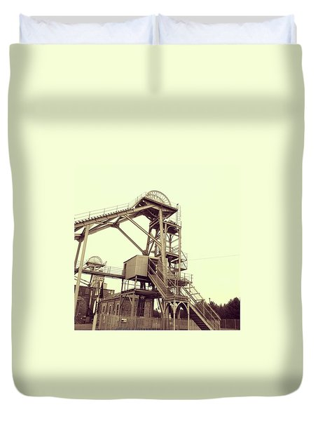 Woodhorn Colliery Museum Duvet Cover