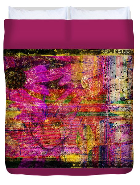 Triple Exposure Duvet Cover by Diana Boyd