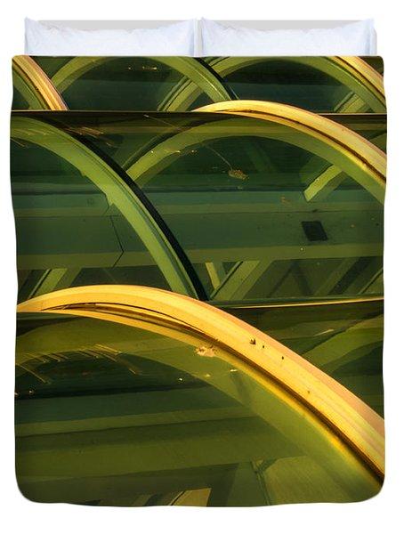 Triple Skylight Duvet Cover