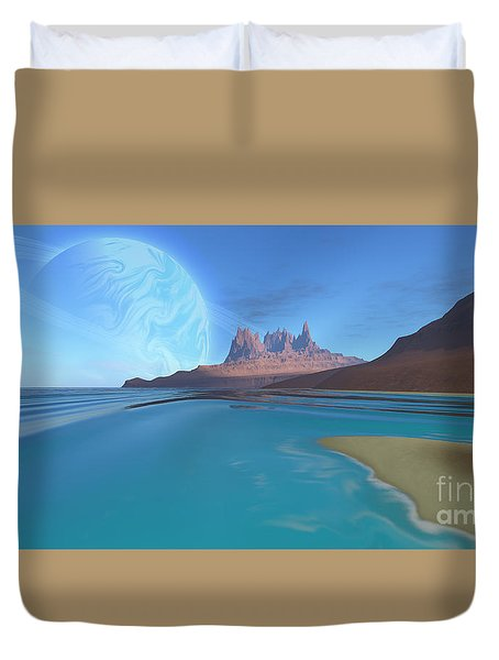 Tripoli Duvet Cover by Corey Ford