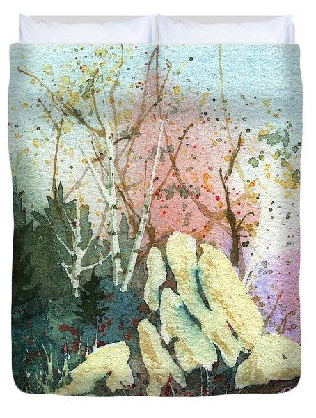 Triptych Panel 1 Duvet Cover