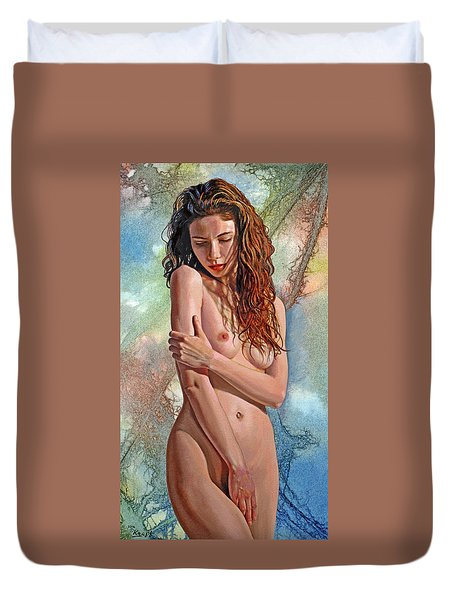 Trisha Duvet Cover