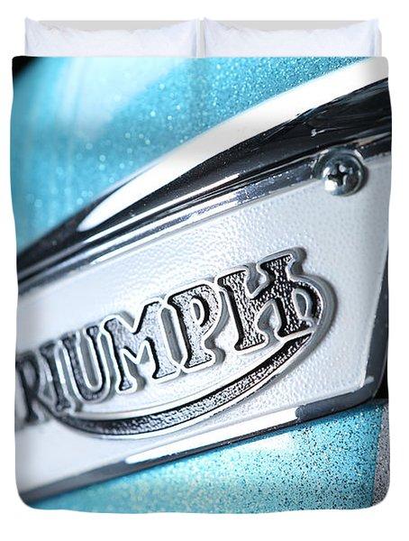 Triumph Badge Duvet Cover