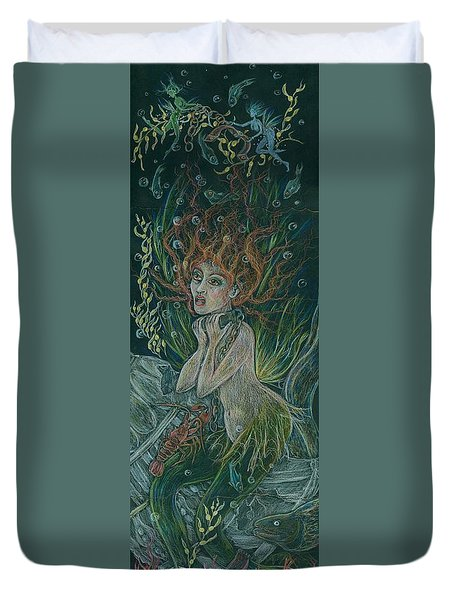 Triumph Escapes Maximilian's Arch Duvet Cover by Dawn Fairies