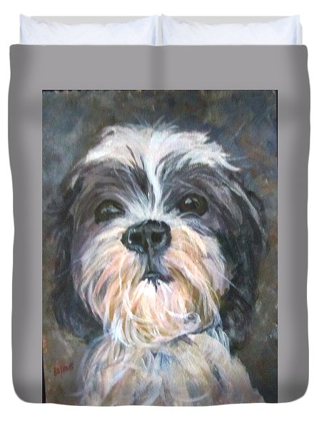 Trixie Duvet Cover by Barbara O'Toole