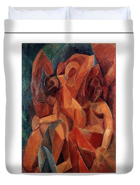 Trois Femmes Three Women  Duvet Cover