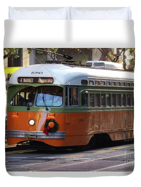 Trolley Number 1080 Duvet Cover