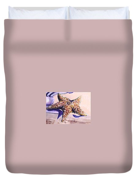 Trompe L'oeil Star Fish Duvet Cover