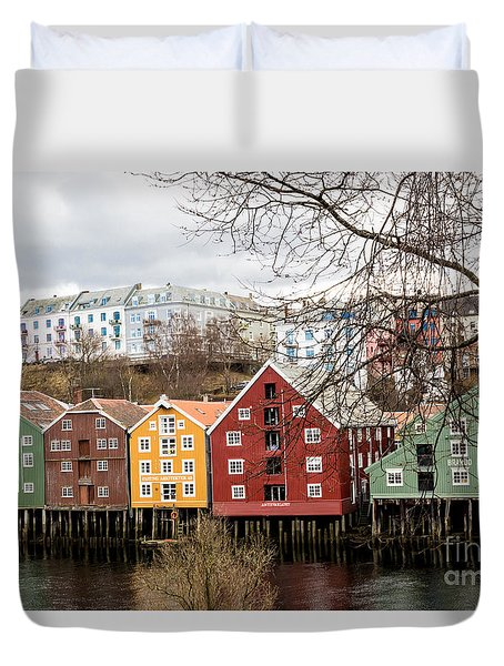 Trondheim Colors Duvet Cover