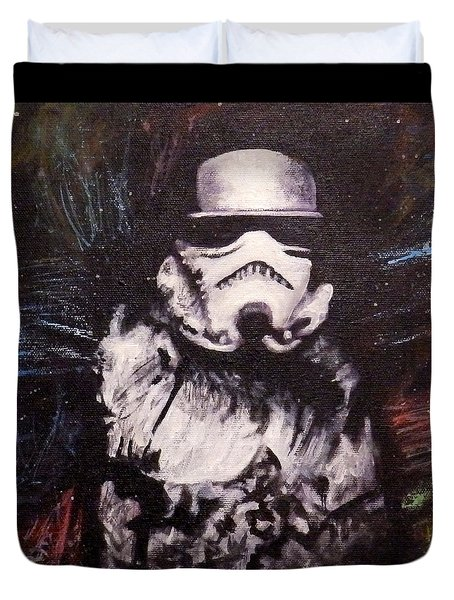 Trooper  Duvet Cover by Dan Wagner