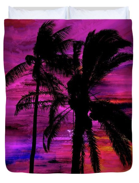 Tropical 1 Duvet Cover