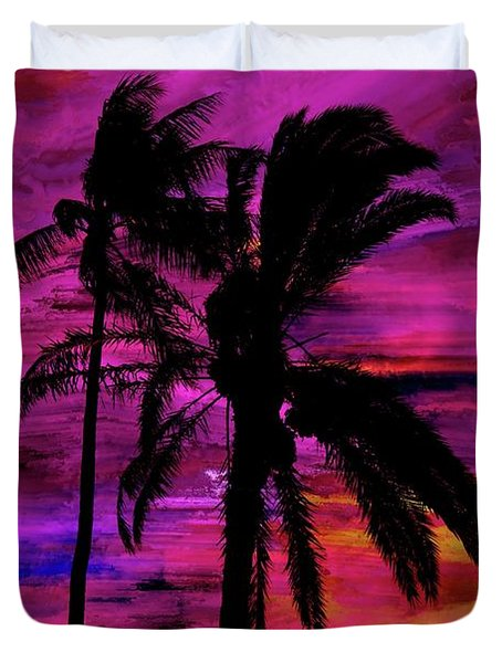 Tropical 1 Duvet Cover