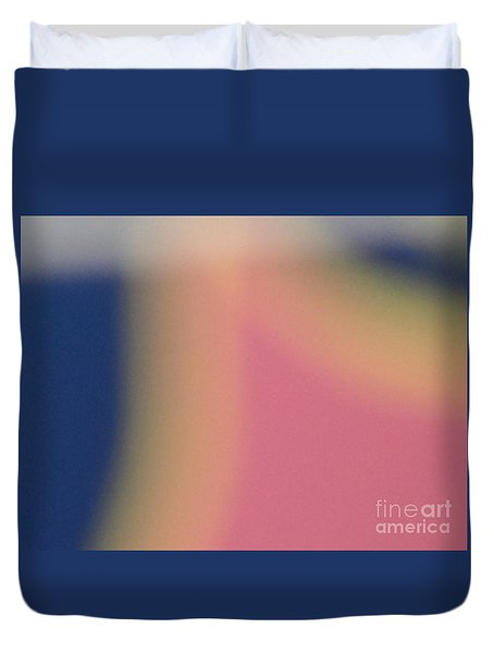 Tropical Abstract Duvet Cover by Alexander Van Berg