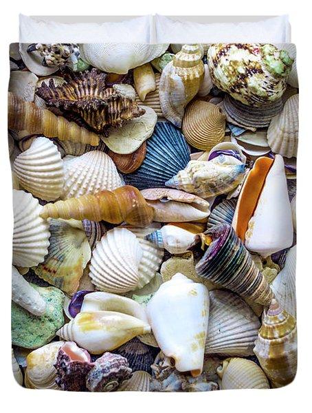Tropical Beach Seashell Treasures 1529b Duvet Cover