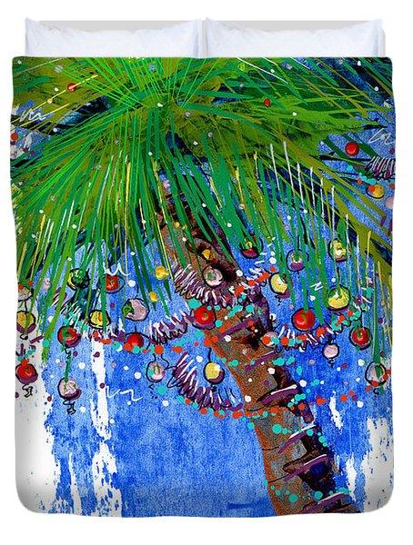 Tropical Christmas  Duvet Cover