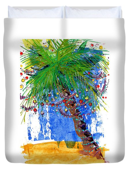 Tropical Christmas  Duvet Cover