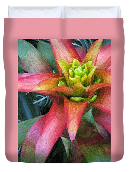 Tropical Delight Too Duvet Cover